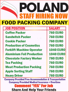 Staff Hiring Now In Poland