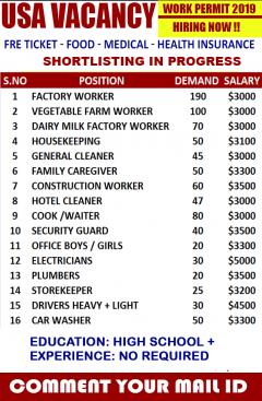 Top Job Searching In USA