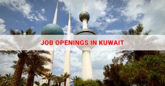Multiple Vacancy Open In Kuwait