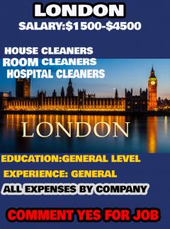 Vacancy Open In London