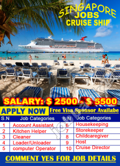 Cruise Ship Jobs In Singapore