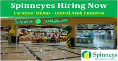 Vacancy for SPINNEYS Dubai Hyper Market
