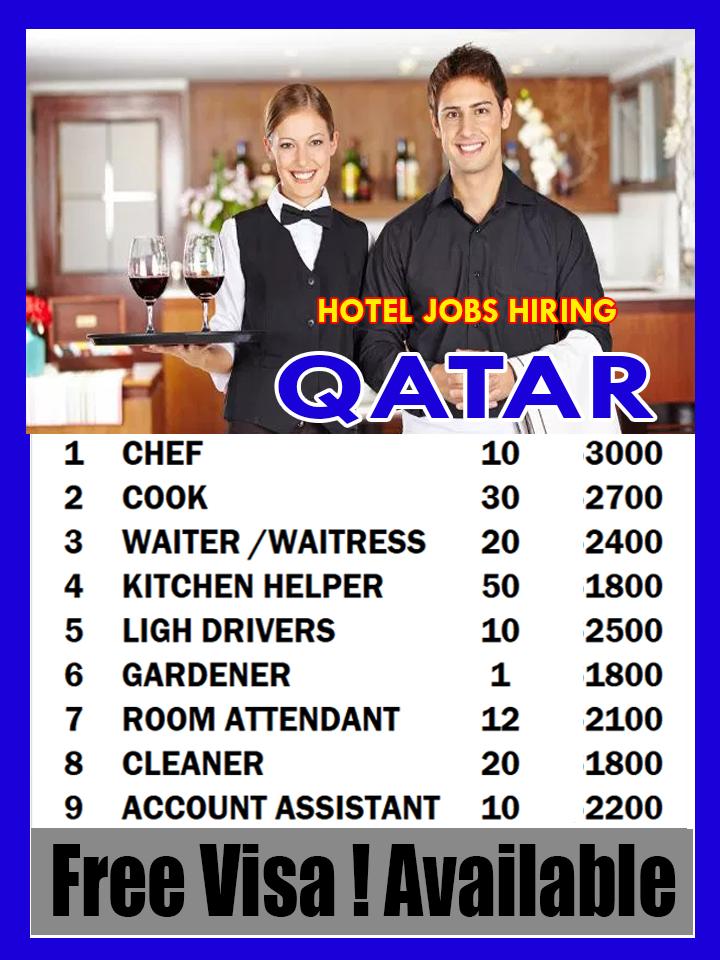 Hotel Jobs In Qatar Doha