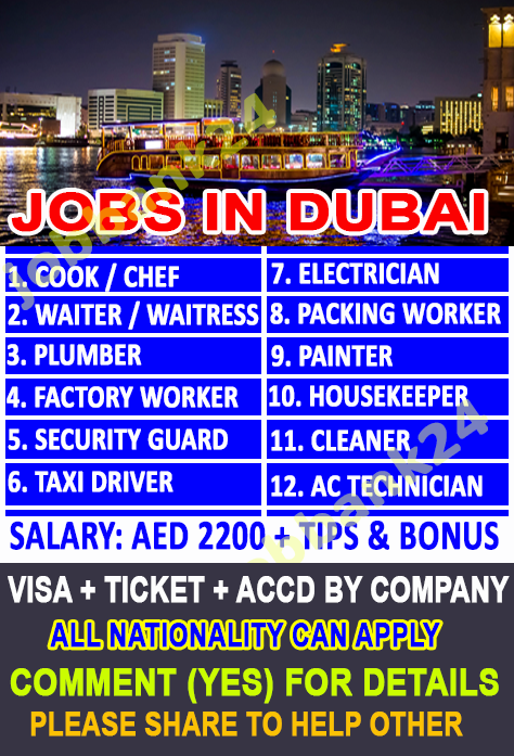 Dubai Job Agency In Dubai