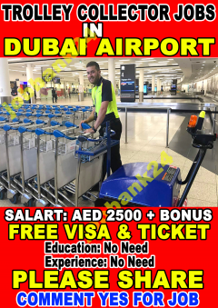 Trolley Collector Jobs In Airport