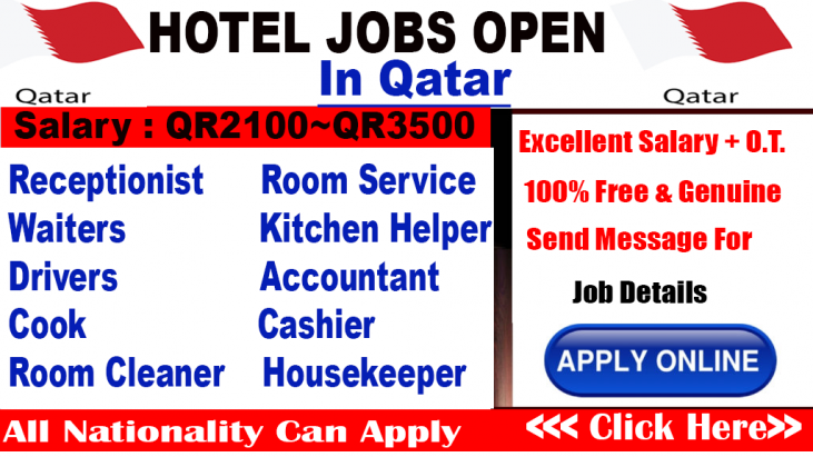 Hotel Jobs At Qatar