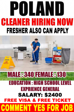 Cleaning Jobs In Poland