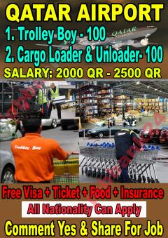 New Vacancy Open In Qatar Airport