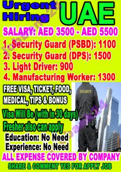 Security Jobs at Dubai