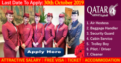 Latest Vacancy In Qatar Airways