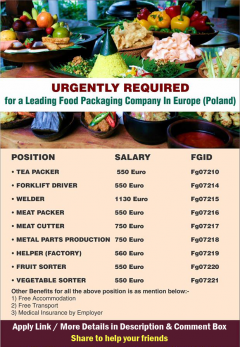 Jobs Available in Poland