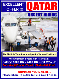 Latest Job Vacancy In Qatar Airways
