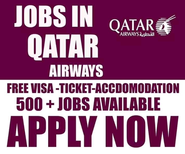 Latest Job Vacancy In Qatar Airways