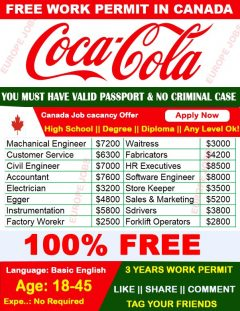 Factory Worker Job In Canada