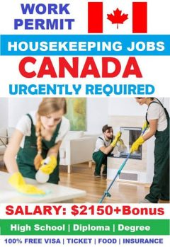 Housekeeping Job Vacancies In Canada