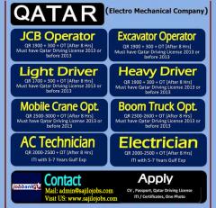 Driver Jobs For Qatar