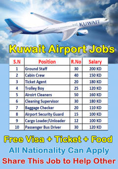 Jobs In Kuwait Airways Apply Now