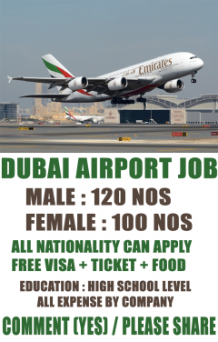 Vacancies In Dubai Airport