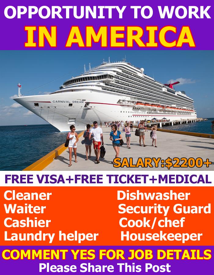 Cruise Ship Jobs In America