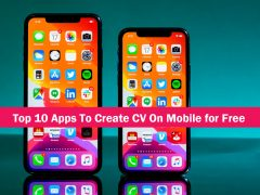 top 10 apps to create cv for free on mobile