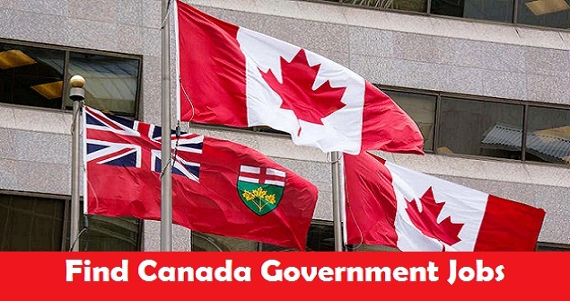 Canada Government Jobs For 2020