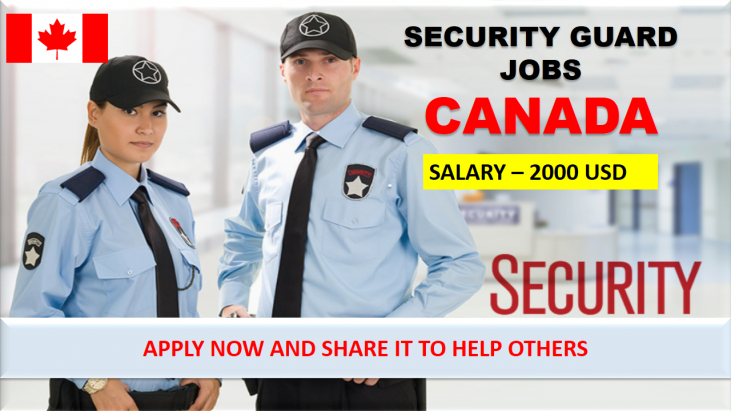 Security Jobs In Canada For 2020