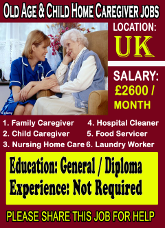 Caregiver Jobs In UK London