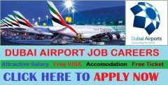 Jobs In Dubai Airport For Fresher