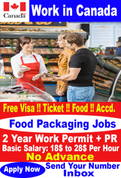 Food Packaging Jobs In Canada