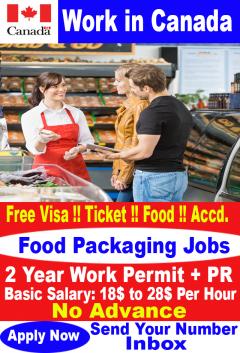 Food Packaging Jobs In Canada