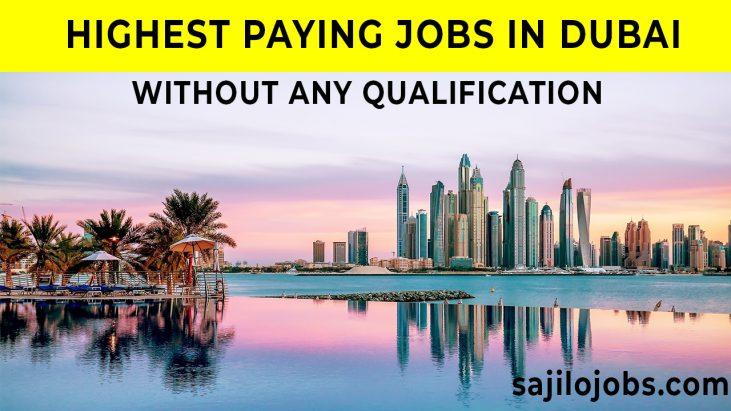 highest paying jobs in dubai