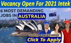 Multiple Jobs: Jobs in Australia for foreigners 2021