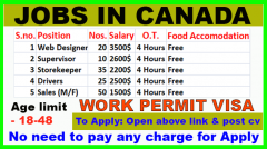 Highest paying job in Canada for International students